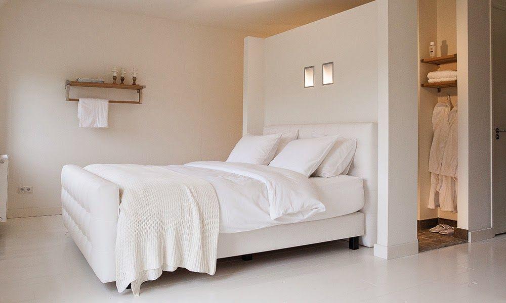 Badkamer Slaapkamer Ineen : Binnenkant : slaapkamer & badkamer samen in een ruimte! fijnwonen