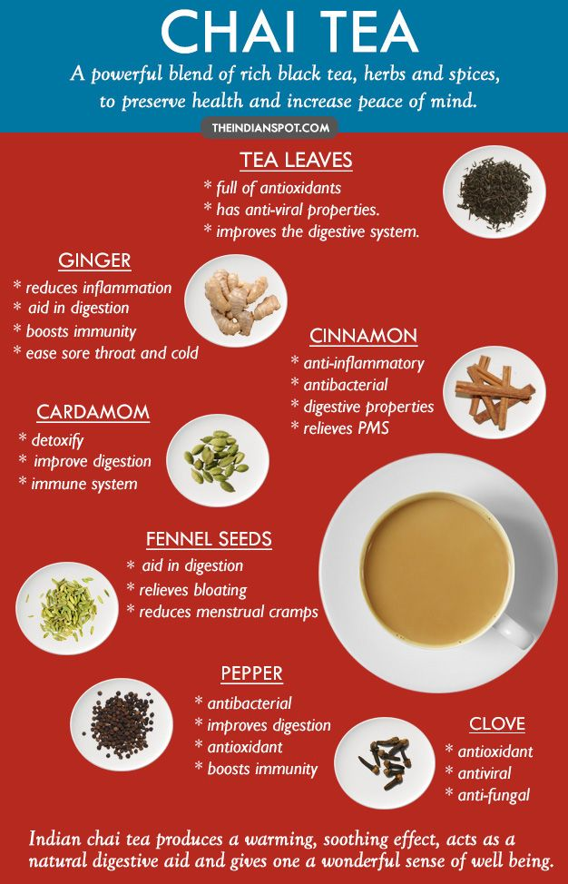 Image result for chai tea health benefits