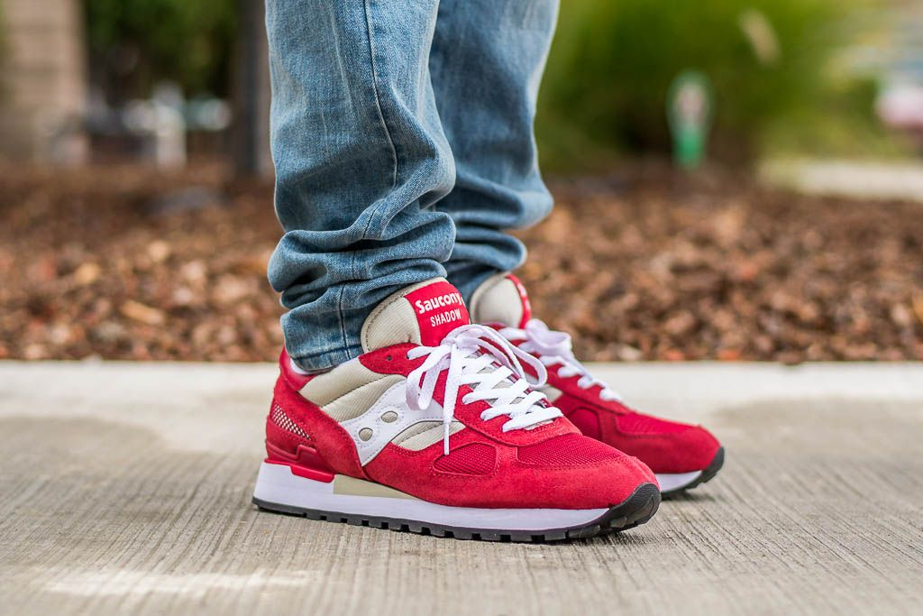 15450d011af7 WDIWT - See my on foot video review of these Saucony Shadow Original Red  Sand + where to find em