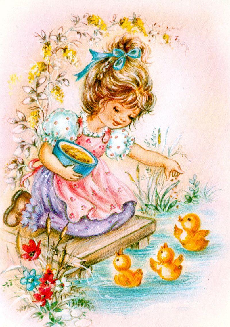 Поздравления новым, зарубежные открытки о детях