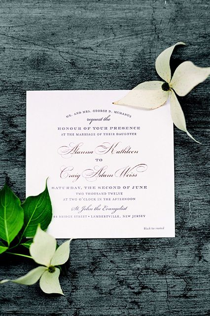 A Rustic Black Tie Wedding. One Of The Most Perfect Weddings Iu0027ve Ever Seen     For The Invites, Cream Cards Were Letterpressed With Charcoal Ink And  Stamped ...