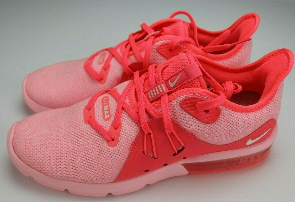 Nike Air Max Sequent 3 Womens 908993 601 Pink New Multiple