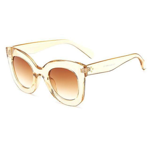 ba6b582272 Butterfly Chunky Sunglasses