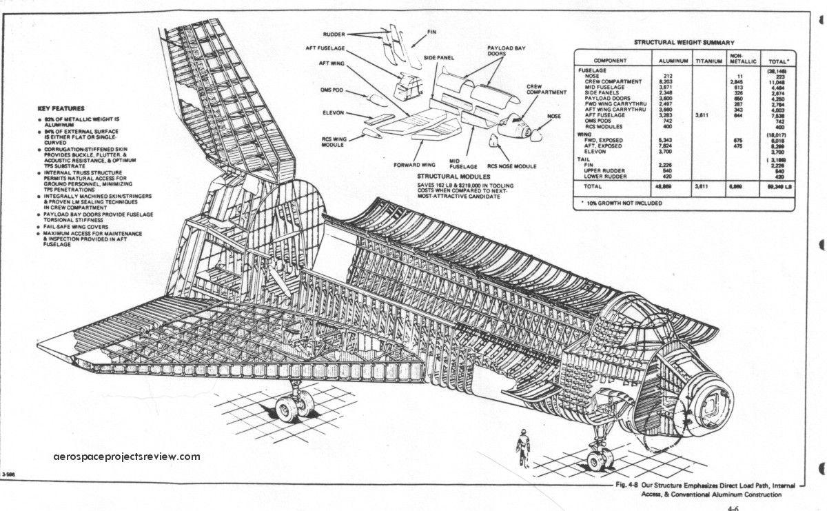 grumman 619 space shuttle