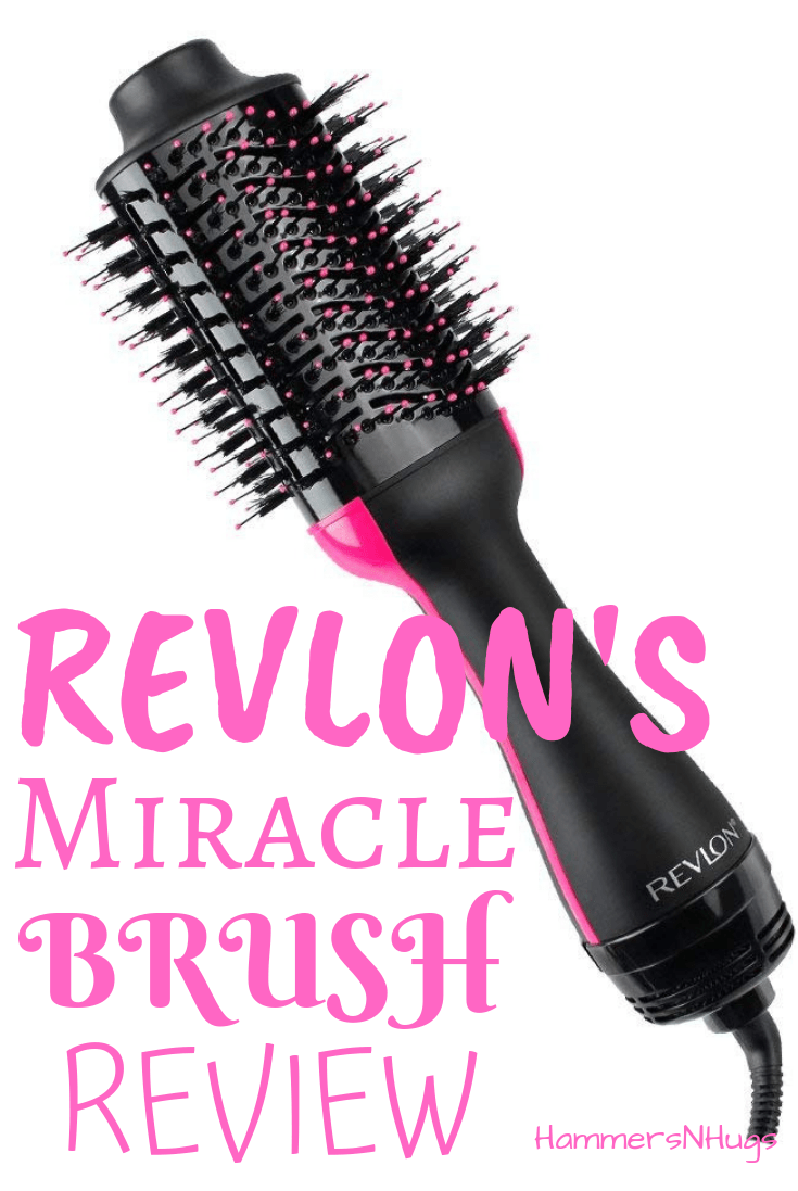 Revlon S One Step Hair Dryer And Volumizer Brush Review Hammers N Hugs Revlon Hair Dryer Revlon Hair Dryer Brush Hair Brush