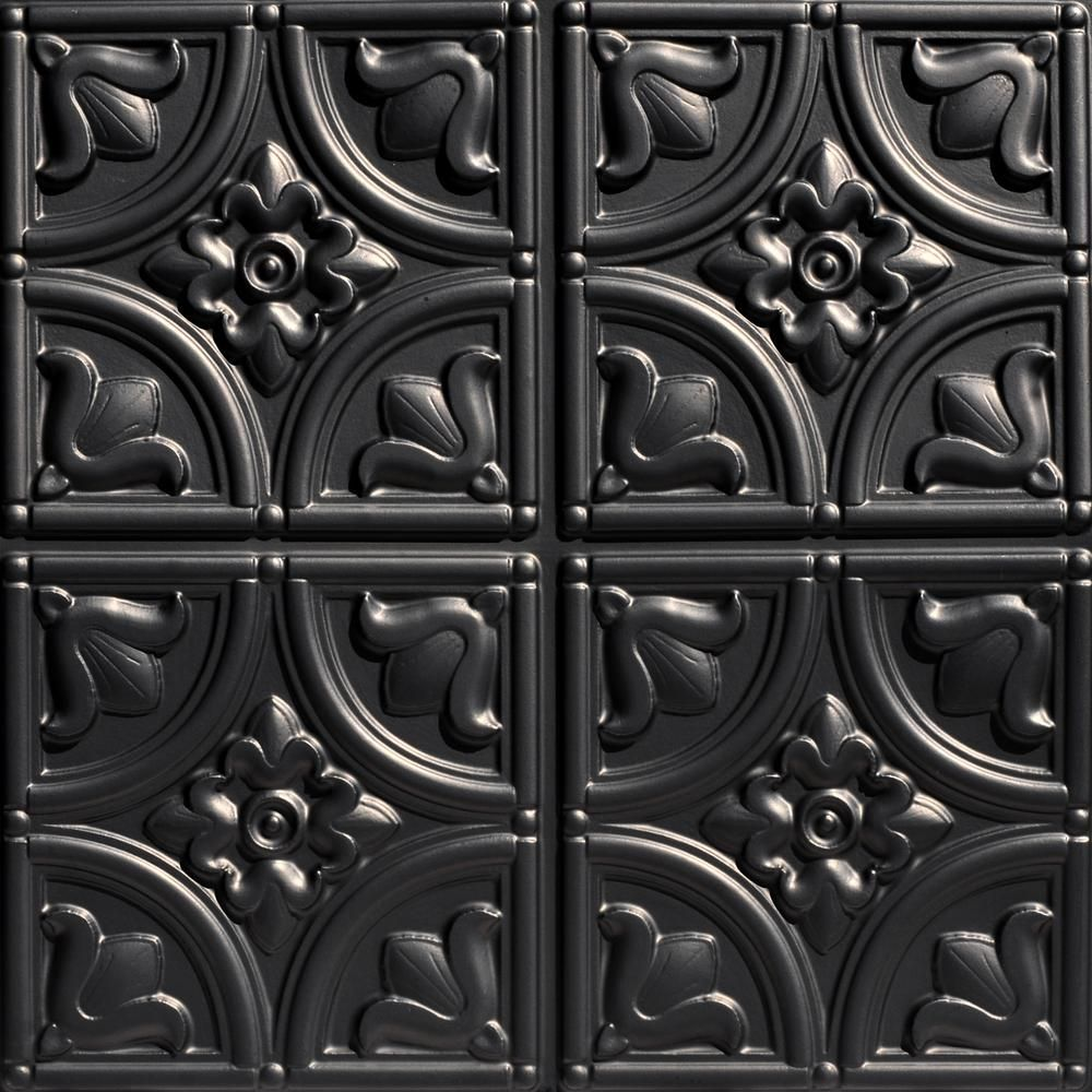 Black Ceiling Tiles Home Depot