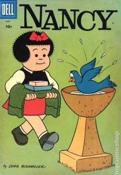 Nancy and sluggo the birdbath pieces arturo e zoe