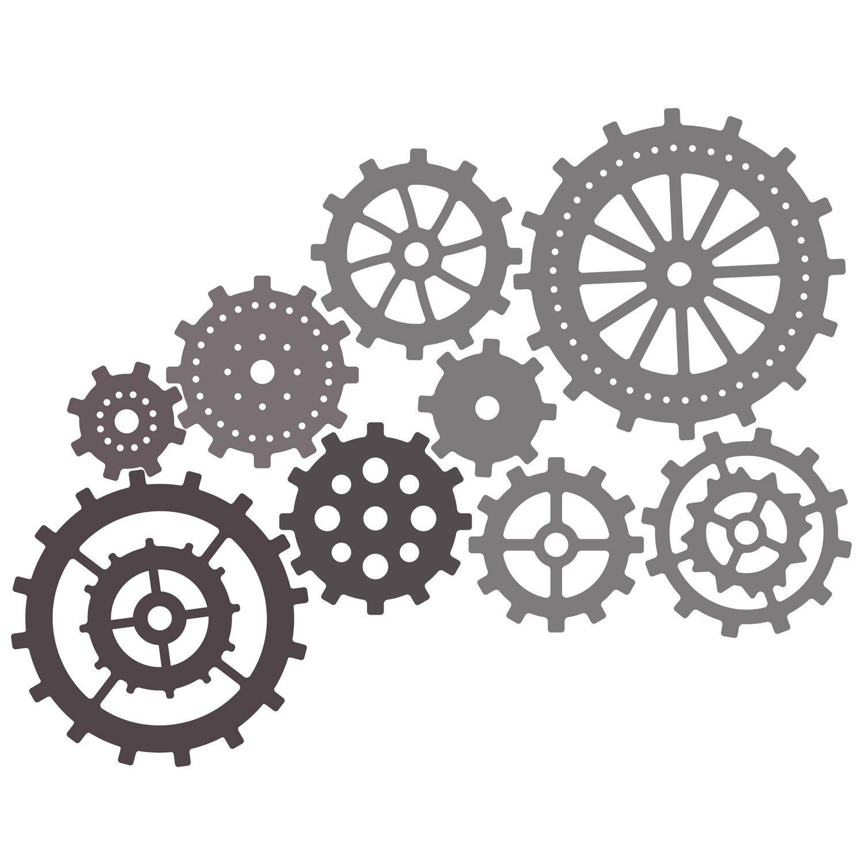 Cheery Lynn Designs Gears Die Set | CNC | Pinterest | Engranes ...