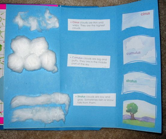 Students Can Use These Montessori 3 Part Cards When Learning To Identify And Define The Four Main Types Of Clouds Lesson Plan Clouds Lesson Montessori Lessons