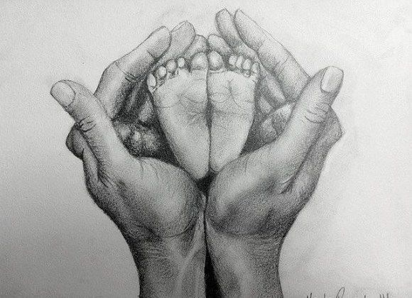 2813a5bff baby feet. | My Art in 2019 | Feet drawing, Baby drawing, Pencil ...