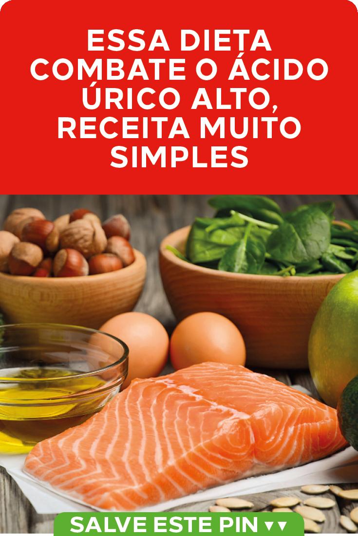 Dieta para quem tem ácido úrico alto