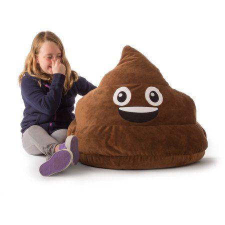 Gomoji Bean Bag Char Multiple Patterns 28 X 28 X 14 Walmart Com In 2020 Bean Bag Chair Emoji Bean Bag Childrens Bean Bags