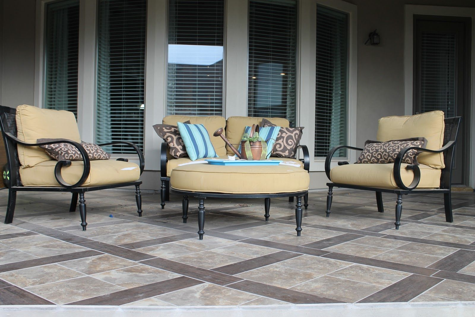 Concrete patio painting ideas google search patio pinterest porch tile flooring durable in all type of climate modern porch tile flooring fortikur dailygadgetfo Images