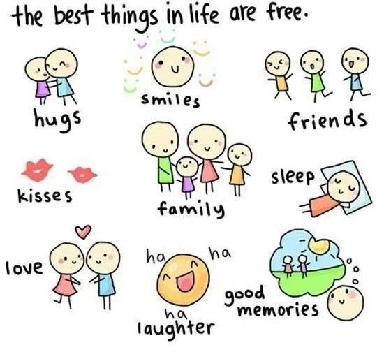 The best things in life are free ♡