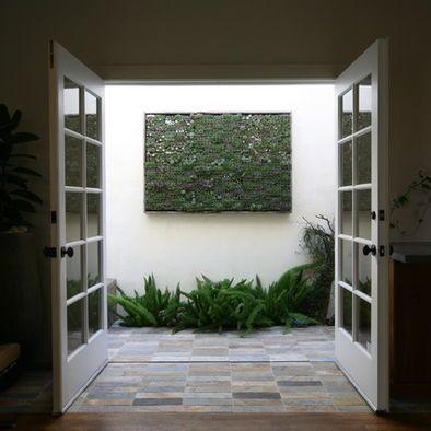 Contemporary Family Room Indoor Atriums Design, Pictures ...