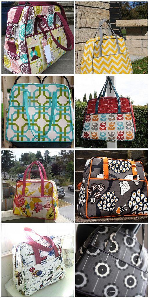 Weekender bag   DIY Accessories   Pinterest   Selbst genäht, Taschen ...