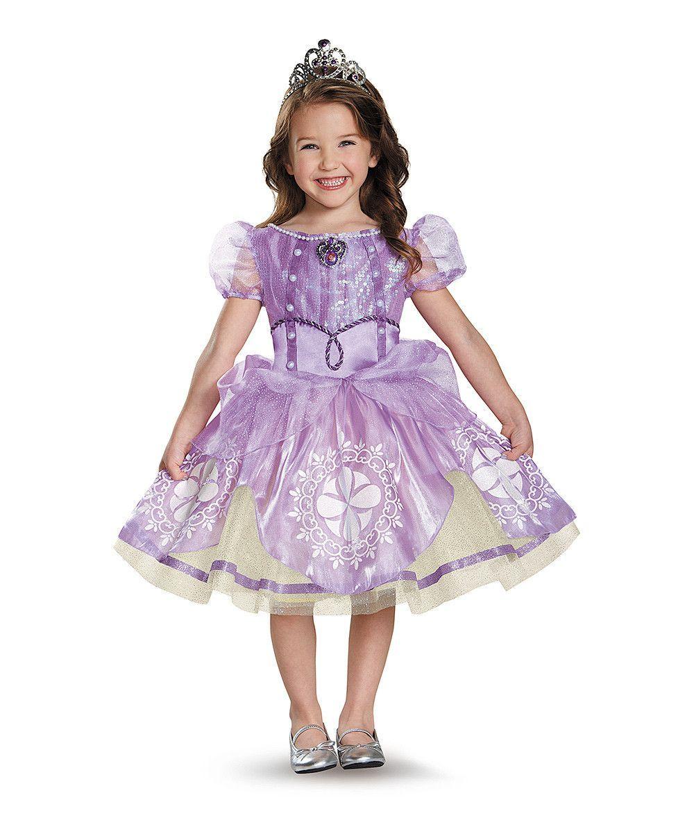 Sofia First Classic Disney Princess Fancy Dress Halloween Toddler Child Costume