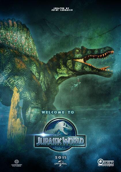 Jurassic World Spinosaurus Com Imagens Desenhos Filmes