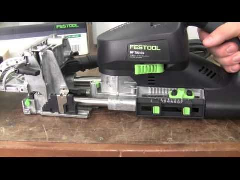Mike Cantrell Reviews Several Festool Domino Accessories Youtube Festool Portable Tools Woodworking Tips