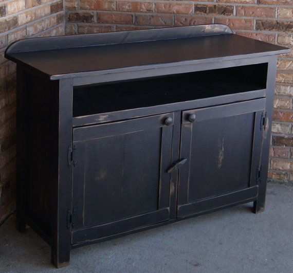 Tv Stand Media Console Media Cabinet Rustic By