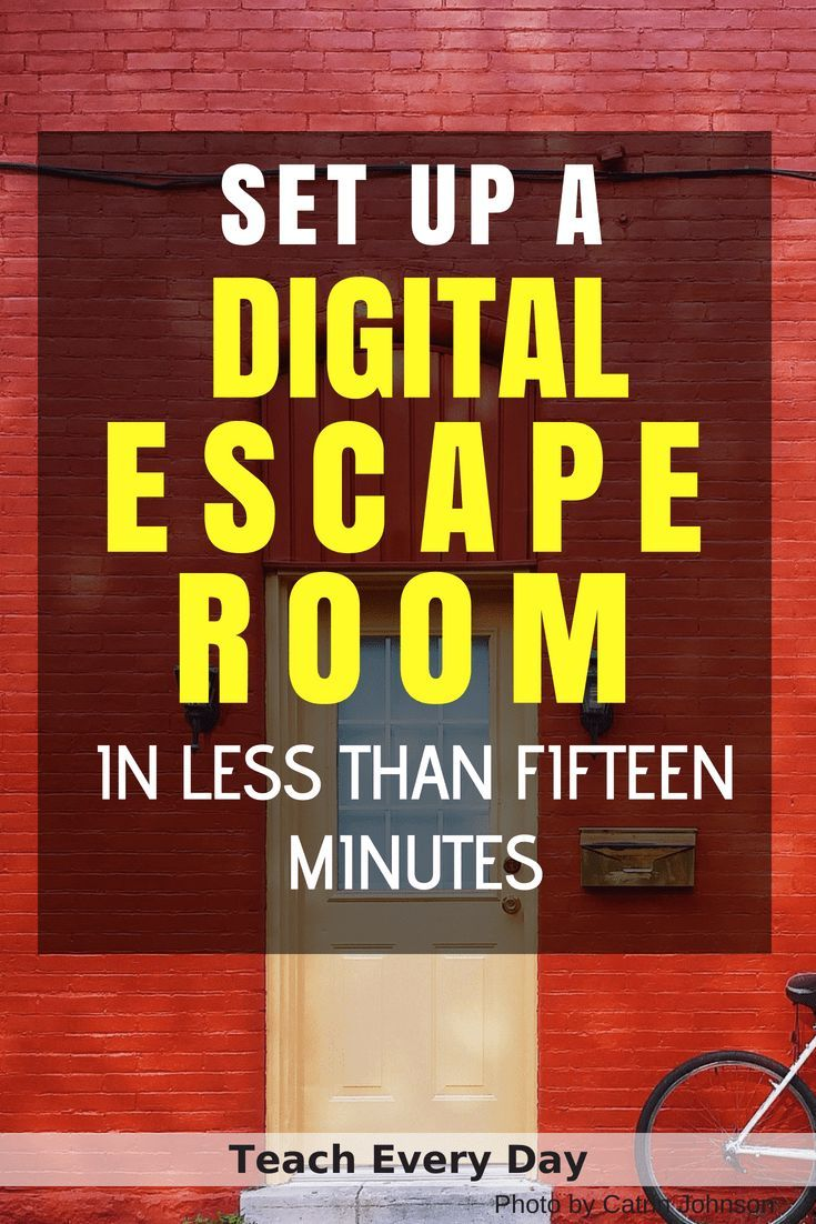 How To Make Any Worksheet Into an Escape Room in the