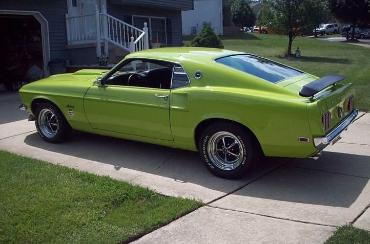 Groovy Green 1969 Mustang Limited Edition 600 Fastback Love It