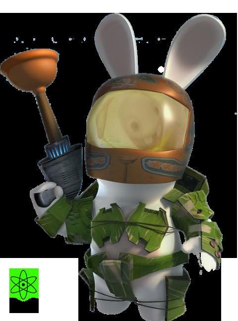 Render jeux vid o renders robot lapin cretin rayman lapins cr tins pinterest - Lapin cretin image ...