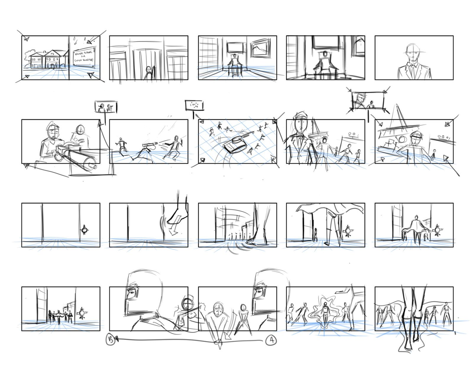 Storyboard Thumbnails Fernando Servin On Artstation At Https
