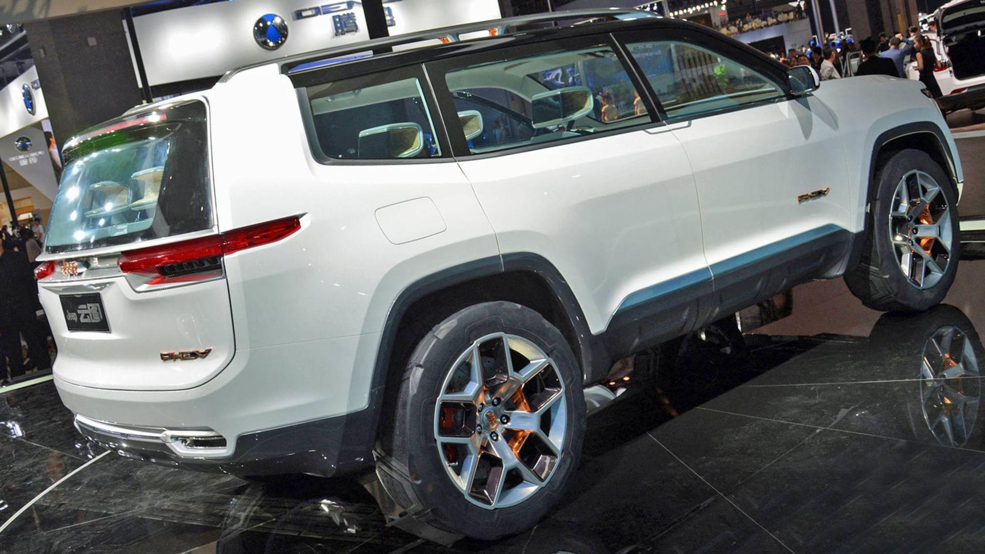 2019 Jeep Yuntu All Round Chinese Venture Jeep Grand Jeep Wagoneer Jeep Grand Cherokee