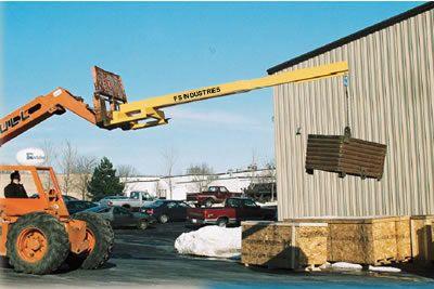 Booms, Fork Lift Boom, Fork Lift Booms, Forklift Boom