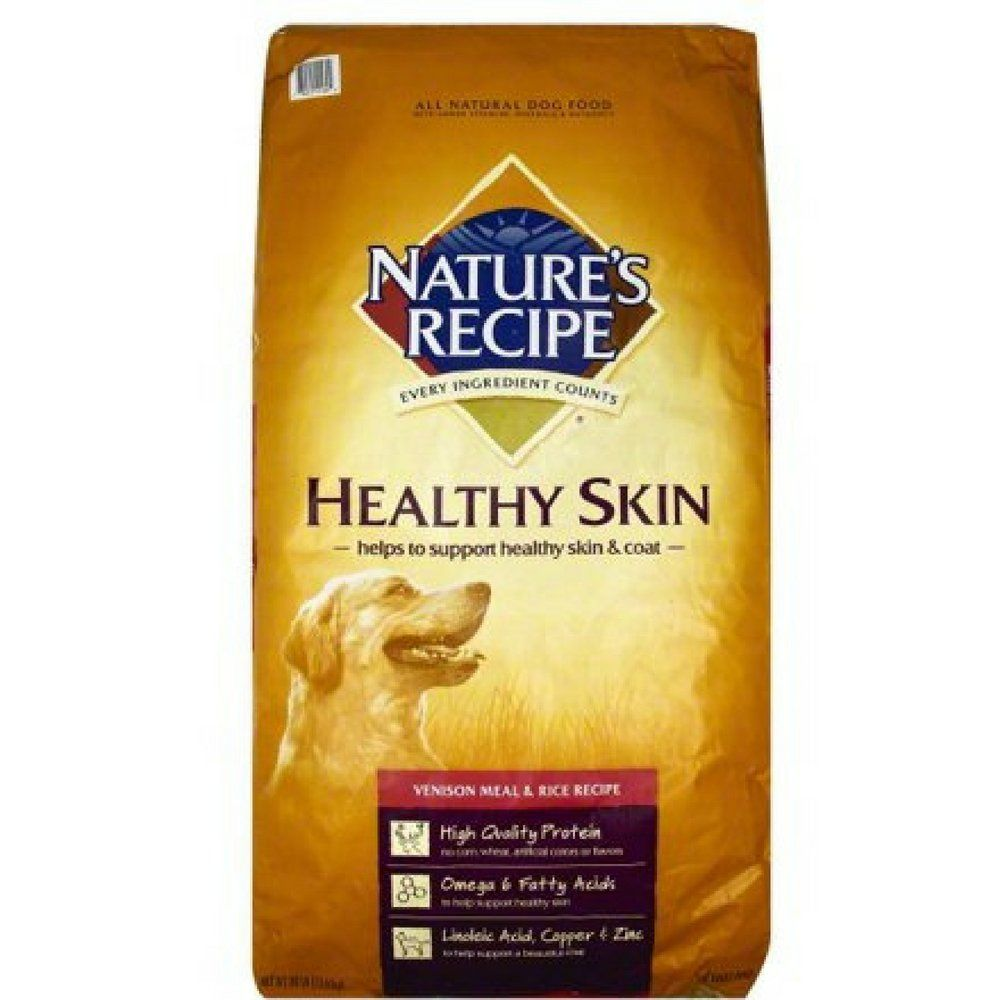Natures Recipe Healthy Skin Venison Meal And Rice Recipe Dry Dog Food 30pound 2 Pack Read More At The Venison Recipes Dog Food Recipes Healthy Diet Recipes