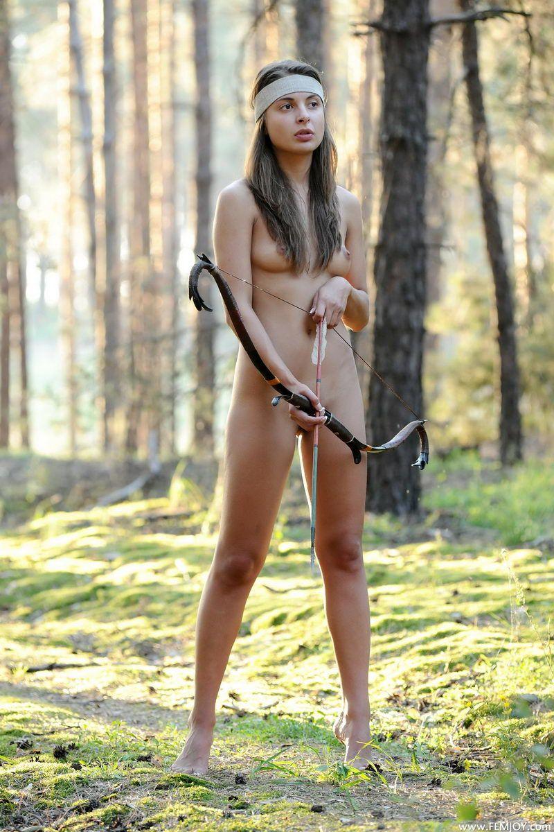 naked archery