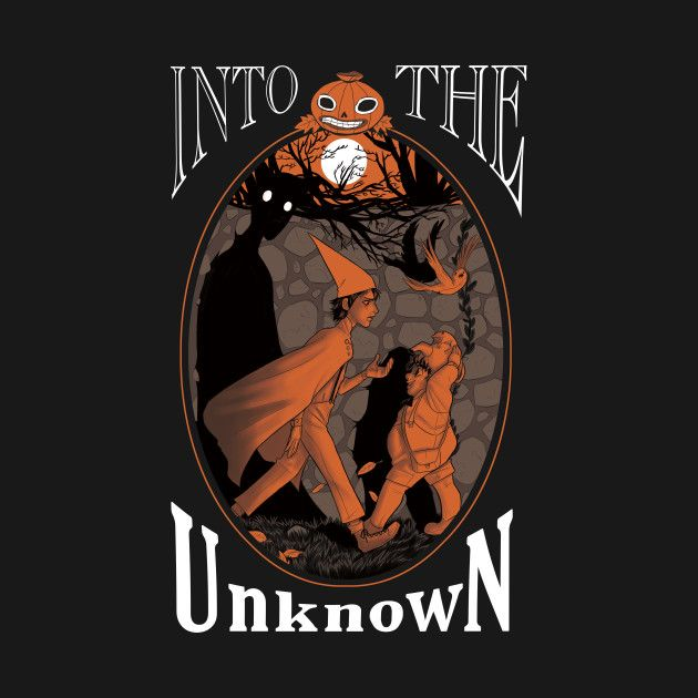 shop into the unknown over the garden wall t shirts designed by beecherarts as well as other over the garden wall merchandise at teepublic - Over The Garden Wall Merchandise