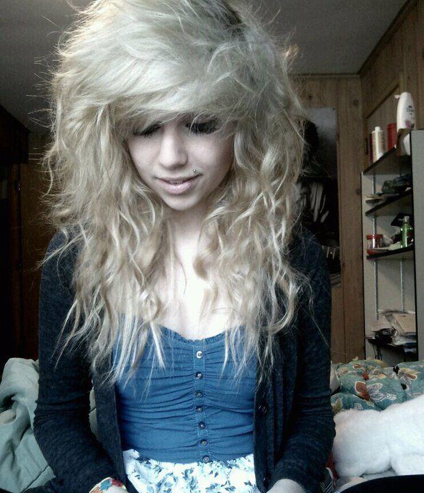 Pretty & Messy hair lol | Hair styles, Emo hair, Scene hair