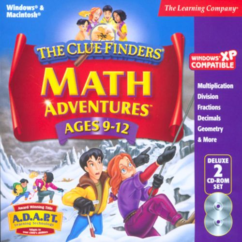 Educational Pc Games For Kids Cluefinders Math Adventures Addition