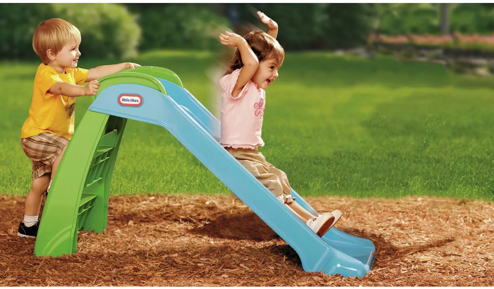 Buy Little Tikes My First Slide Blue/ Green Slides in 2020