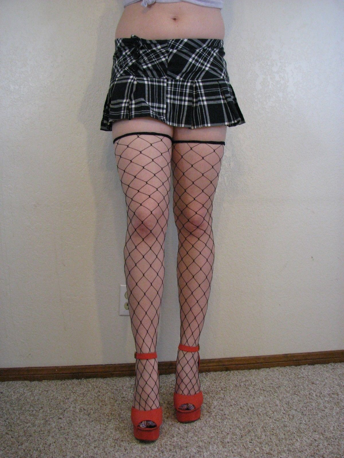 0aeebe8671 Details about Lip Service Black fence net thigh highs #94 in 2019 ...
