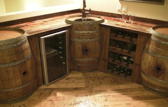 If you want to seal your gorgeous wood bar top, check out ...