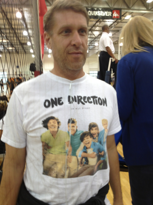 And people say that only teenage girls love One Direction, please.  Although, this is a little creepy.