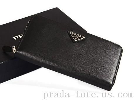 12aa18a9e31d Discount #Prada M506A Wallets in Black Outlet store | Prada Long ...
