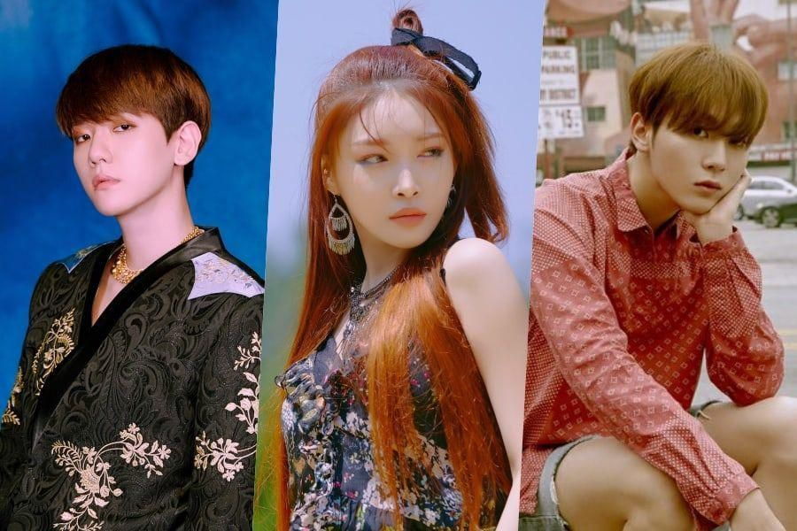 "EXO's Baekhyun, Chungha, SEVENTEEN's Seungkwan, And More To Sing OST For New Drama ""Record Of Youth"""