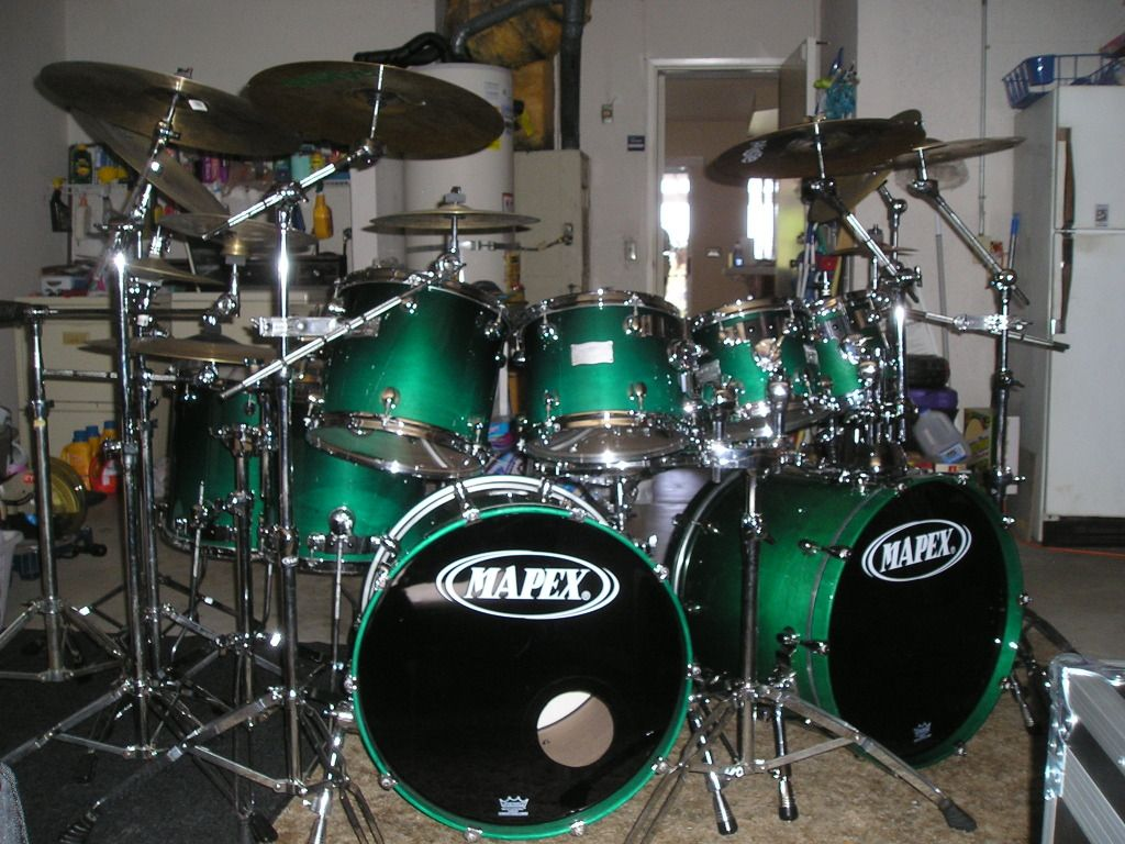 "Show Me Your ""Monster"" Kits! (let's say... 7 piece and up) - Page 5 - DRUMMERWORLD OFFICIAL DISCUSSION FORUM"