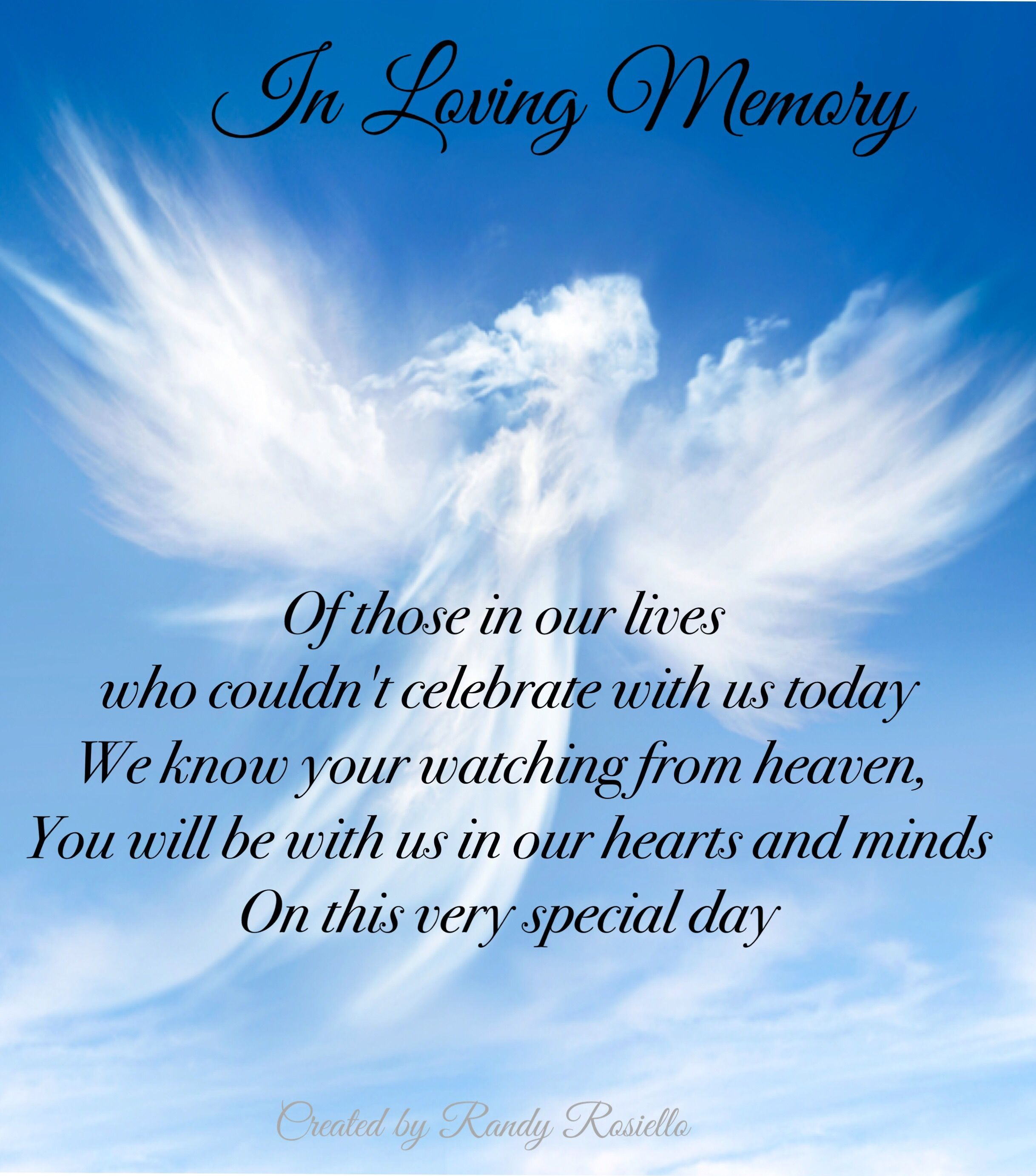 In Memory Of Lost Loved One Put This Saying In A Frame To