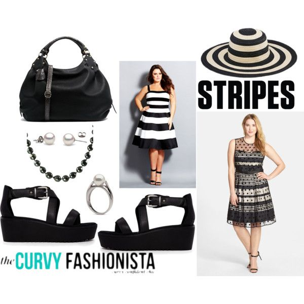 The curvy fashionista polyvore dresses