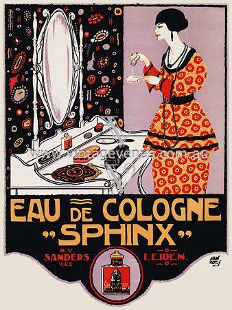 CONSERVATORY SAHARET vintage ad poster MAURICE BIAS germany 1902 24X36 hot