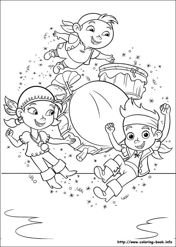 Jake And The Never Land Pirates Coloring Picture Pirate Coloring Pages Disney Coloring Pages Coloring Pages