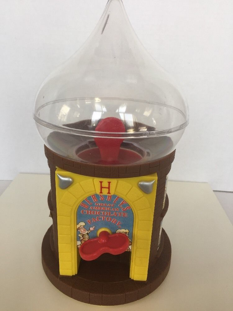 Hershey S Kisses Candy Dispenser Toy American Chocolate Factory R