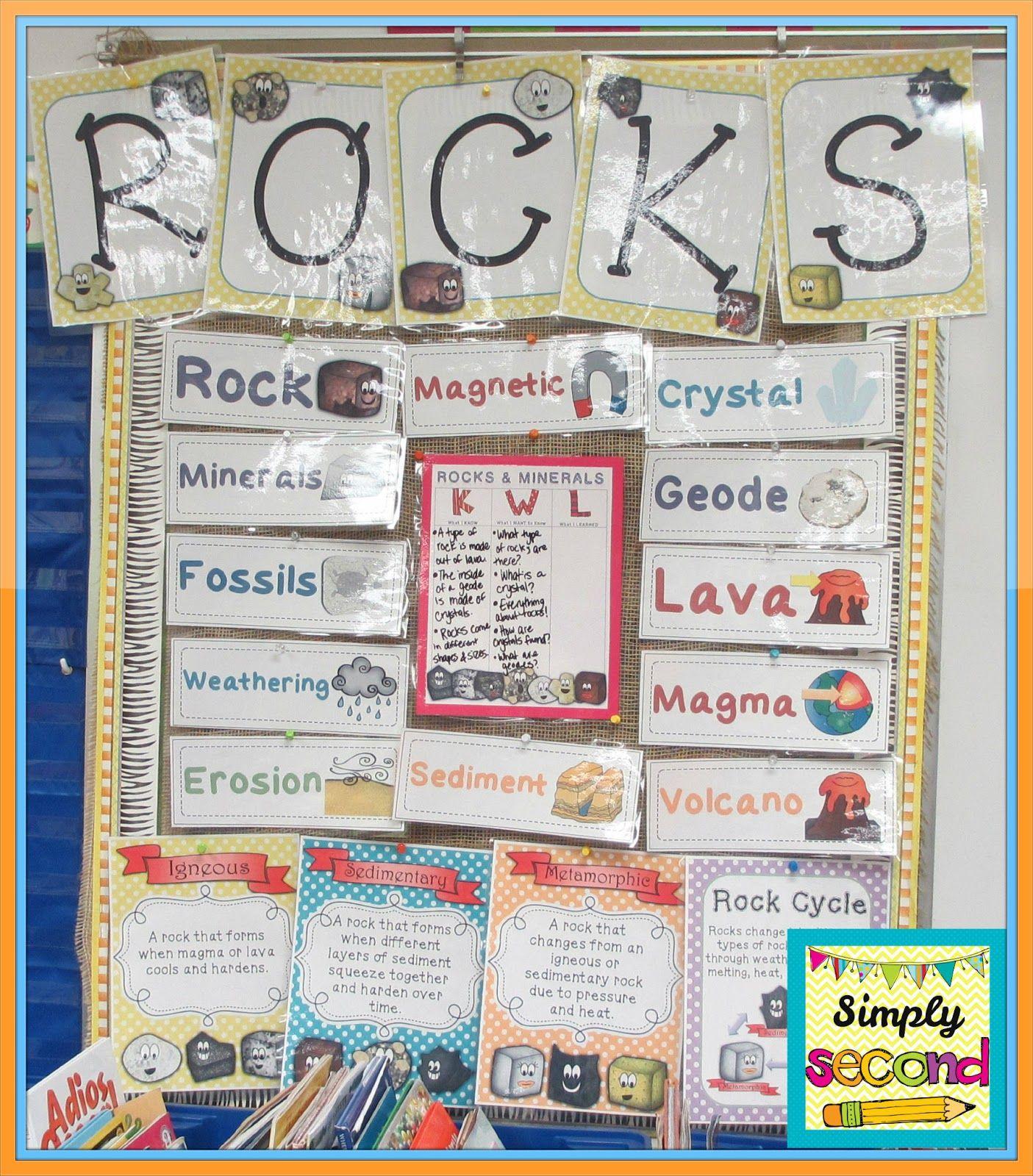 Rocks Amp Minerals Unit Includes Posters Rock Stories Vocab Activities Rock Stations My Pet