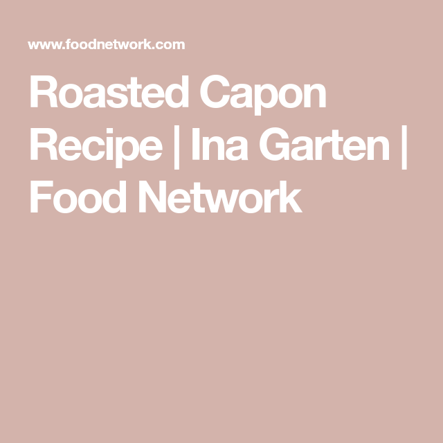 Photo of Roasted Capon
