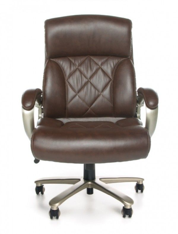 brown leather office chairs. OFM Avenger Series 400 Lb Big U0026 Tall Executive Brown Leather Office Chair Chairs